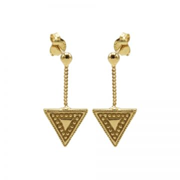 Chainstuds Dots Line Triangle Goldplated