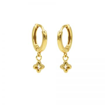 Hinged Hoops Plus Goldplated