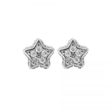 Karma Zirconia Symbols Star Silver