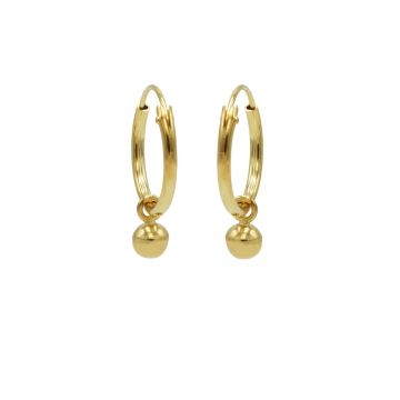 Hoops Symbols Mini Ball Goldplated