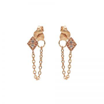 Chain Zirconia Diamond 2 Roseplated