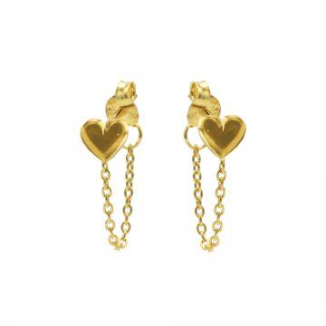 Chain Heart Goldplated