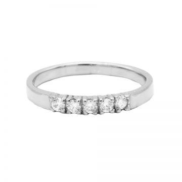 Ring 4 Zirconia Silver
