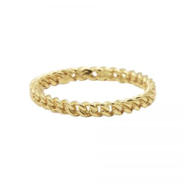 Ring Chain Goldplated