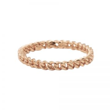 Ring Chain Roseplated