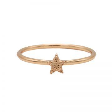 Ring Star Roseplated