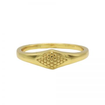 Ring Signet Goldplated