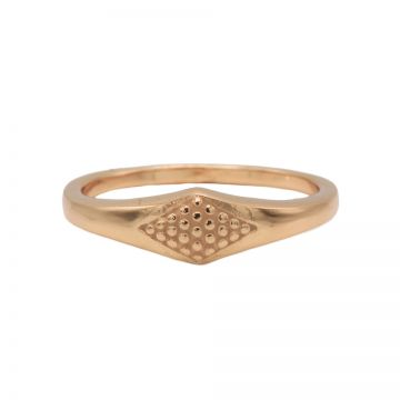Ring Signet Roseplated