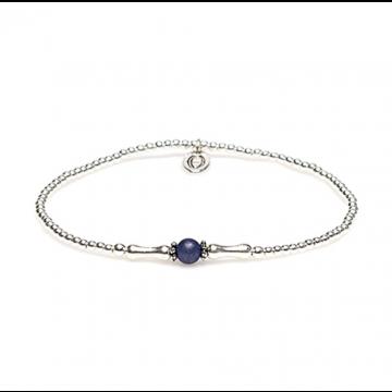 XS Balistyle Bracelet Silver Blue Sodalite