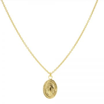 Necklace Maria Goldplated 50-57CM