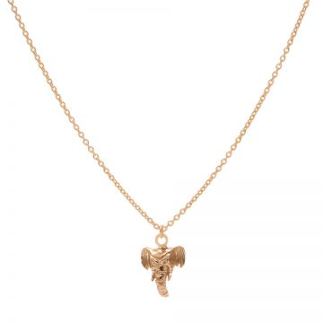 Necklace Elephant Roseplated 50-57CM