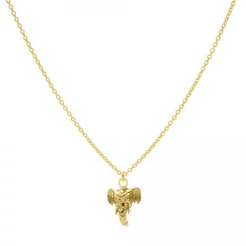 Necklace Elephant Goldplated 50-57CM