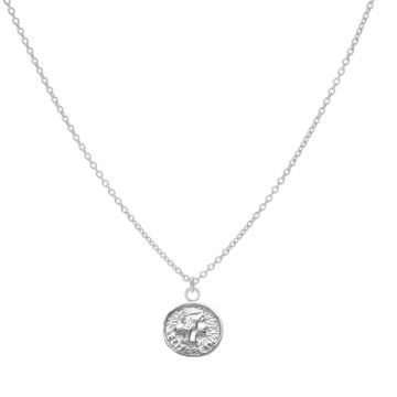 Necklace Elisabeth Coin Silver 50-57CM