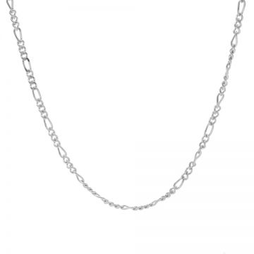 Necklace Figaro Silver