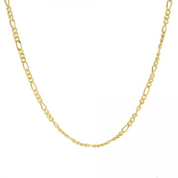 Necklace Figaro Goldplated
