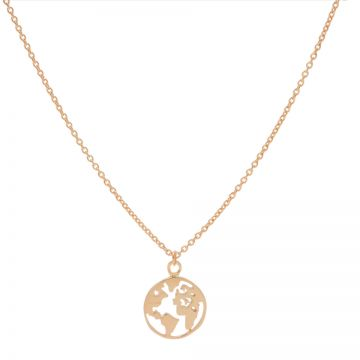 Necklace Earth Roseplated