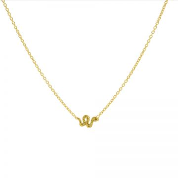 Necklace Little Snake Goldplated