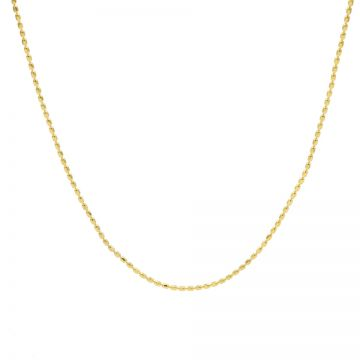 Necklace Tiny Dots Chain Goldplated