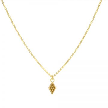 Necklace Dots Diamond Goldplated