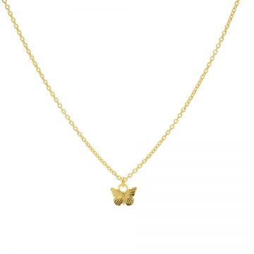 Necklace Butterfly Goldplated