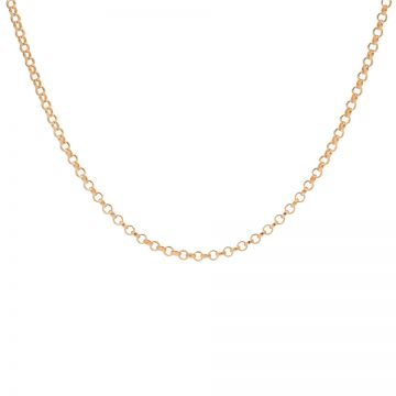 Necklace Round Chain Roseplated