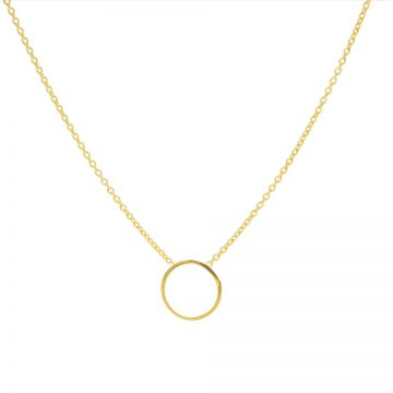 Necklace Circle Goldplated