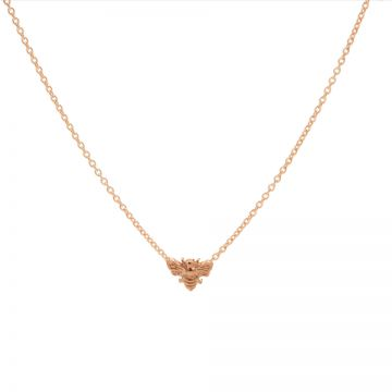 Necklace Bee Roseplated
