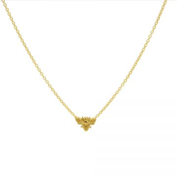 Necklace Bee Goldplated