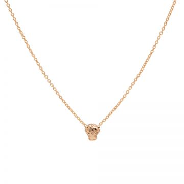 Necklace Leopard 2 Roseplated