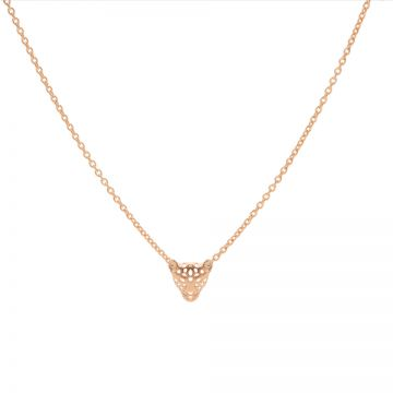 Necklace Leopard Roseplated