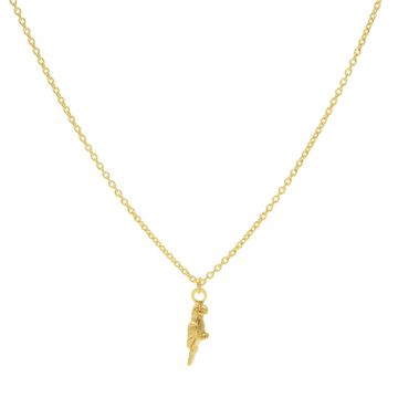 Necklace Parrot Goldplated