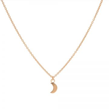 Necklace Moon Roseplated